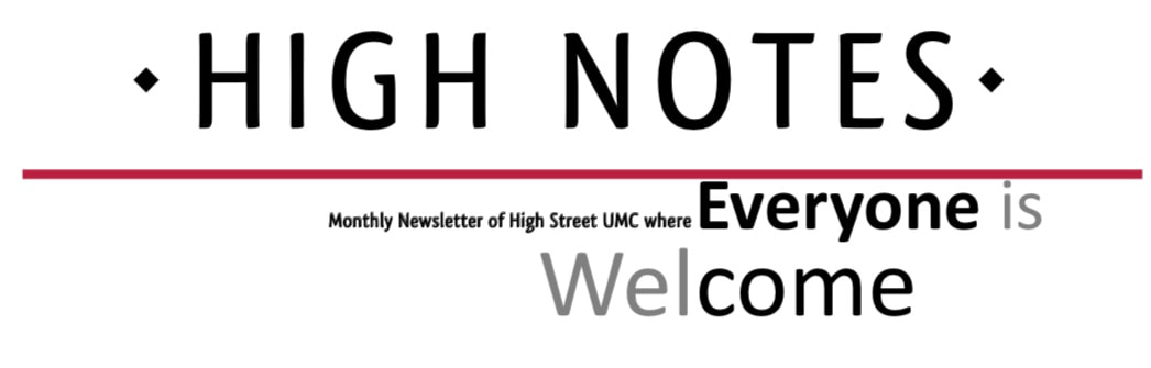 High Notes Newsletter